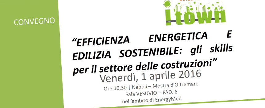 EFFICIENZA ENERGETICA E EDILIZIA SOSTENIBILE